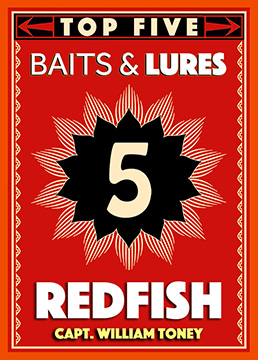 Top 5 Redfish Baits & Lures