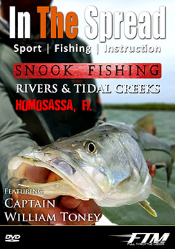 Snook fishing video with Capt. William Toney from In The Spread